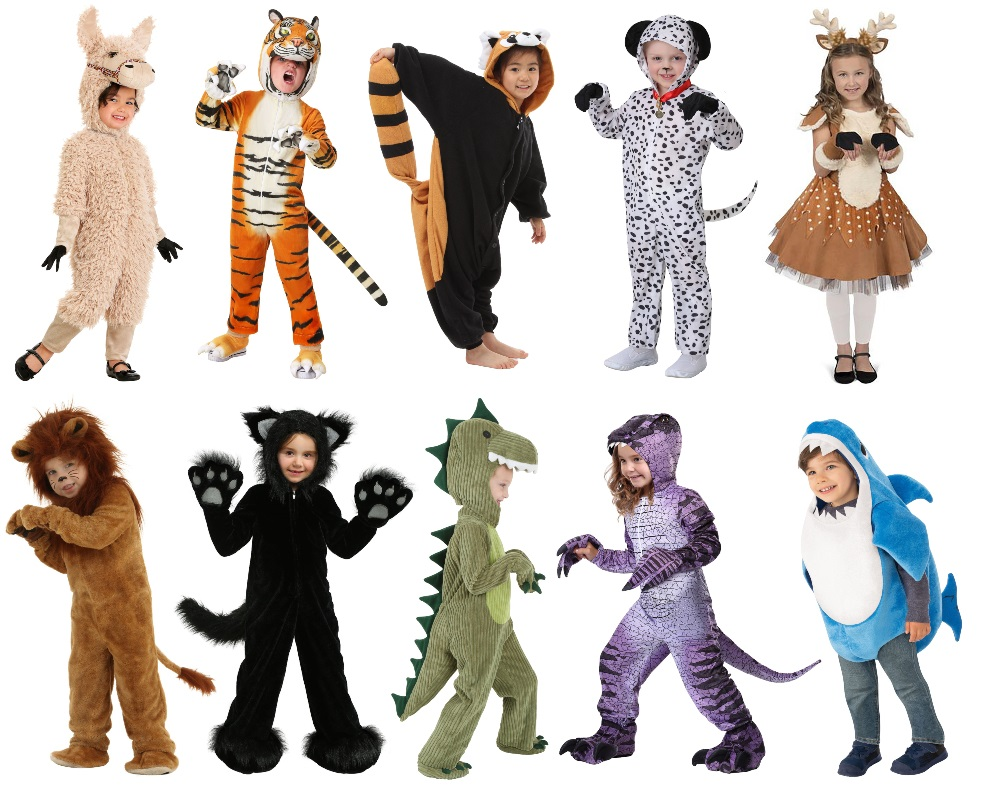 Kids' Animal Costumes