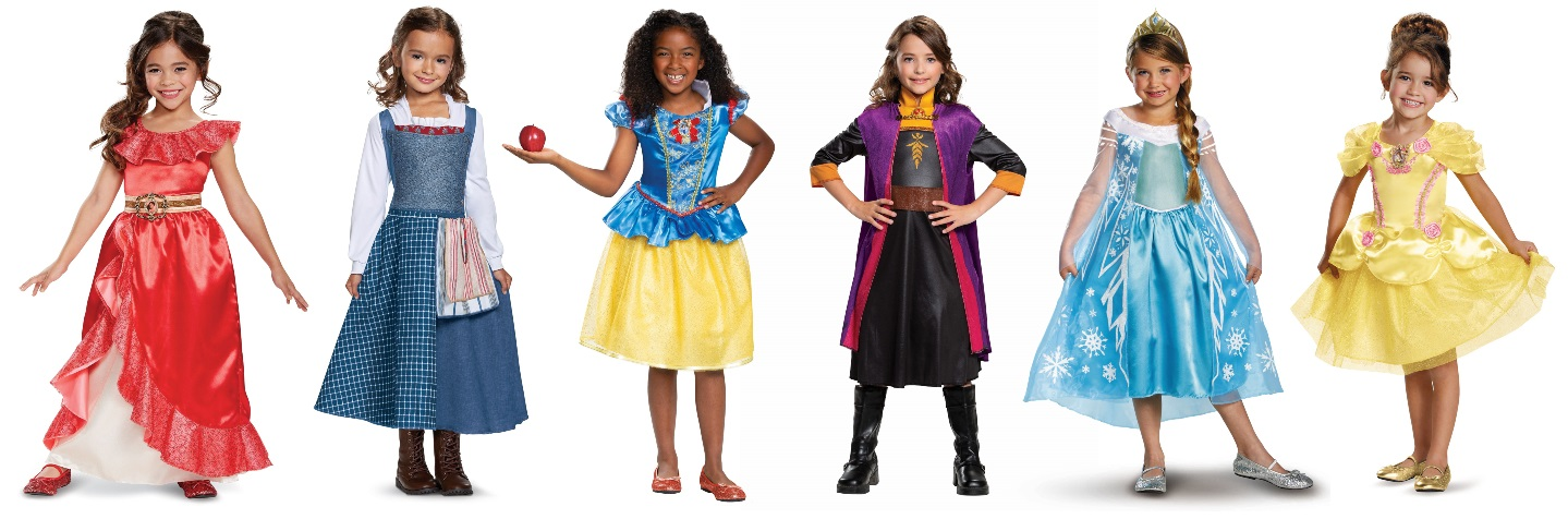 Kids' Disney Princess Costumes