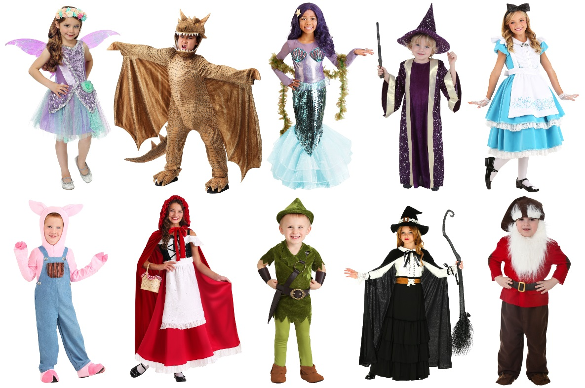 Kids Fairy Tale Costumes