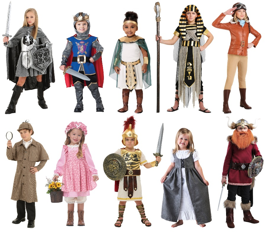 Kids' Historical Costumes