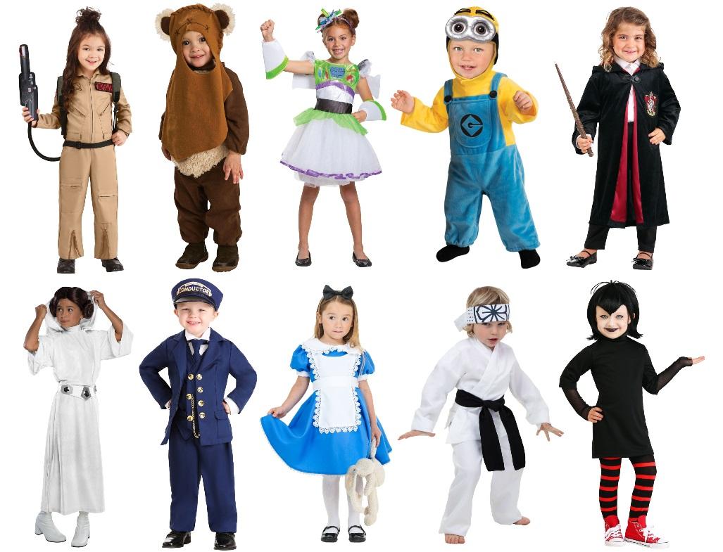 Kids' Movie Costumes