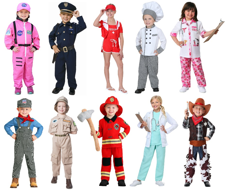 Kids' Occupation Costumes