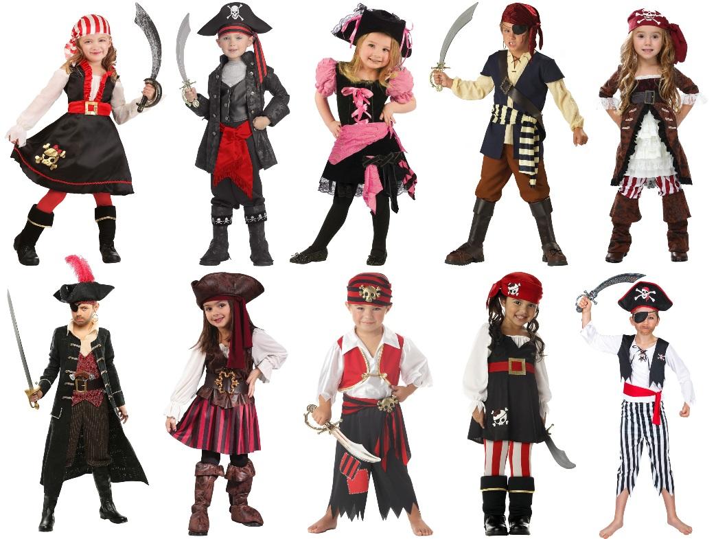 Kids' Pirate Costumes
