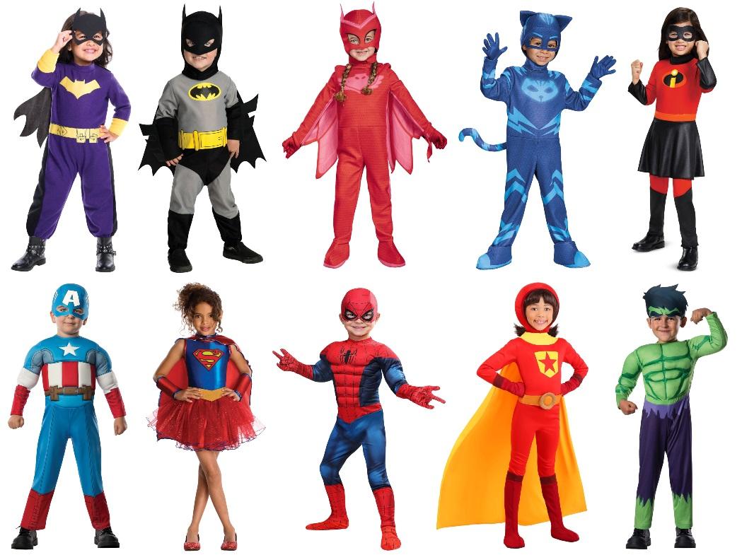 Superhero Costumes for Kids