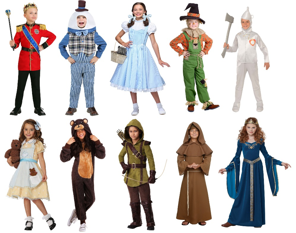 Kids' Theater Costumes