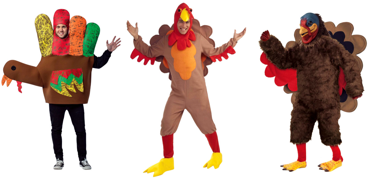 Turkey Costumes for Adults