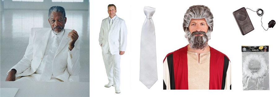 Do It Yourself Bruce Almighty God Costume