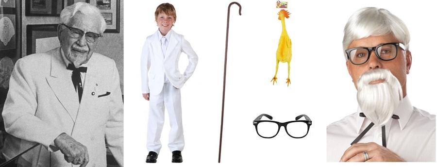 Do It Yourself KFC Colonel Sanders Costume