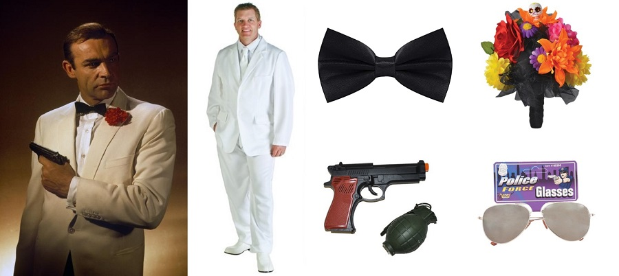 Do It Yourself James Bond Goldfinger Costume