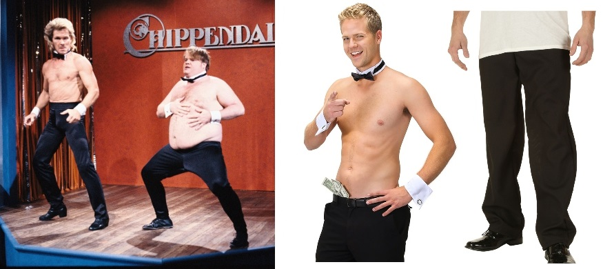 SNL Chippendales Costume