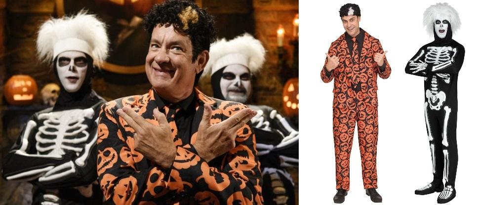 SNL David S. Pumpkins Costume