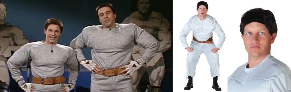 SNL Hans and Franz Costumes