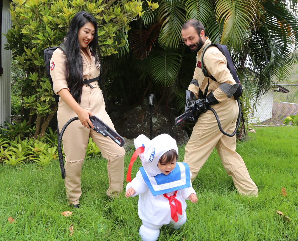 Family Ghostbusters Costumes
