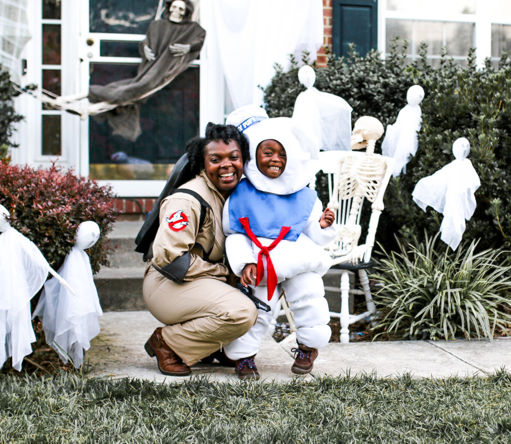 Mommy and Me Ghostbusters Costumes