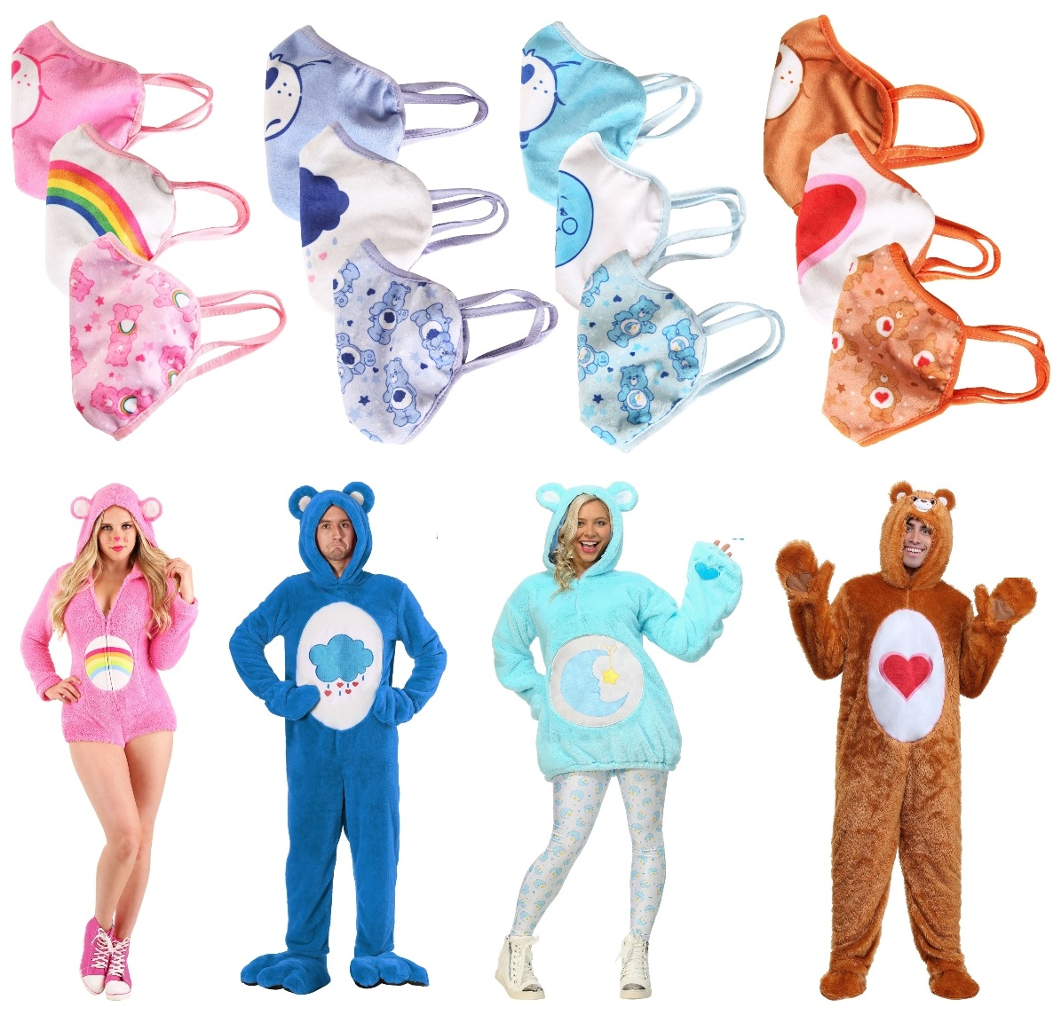 Care Bears Masks and Costumes