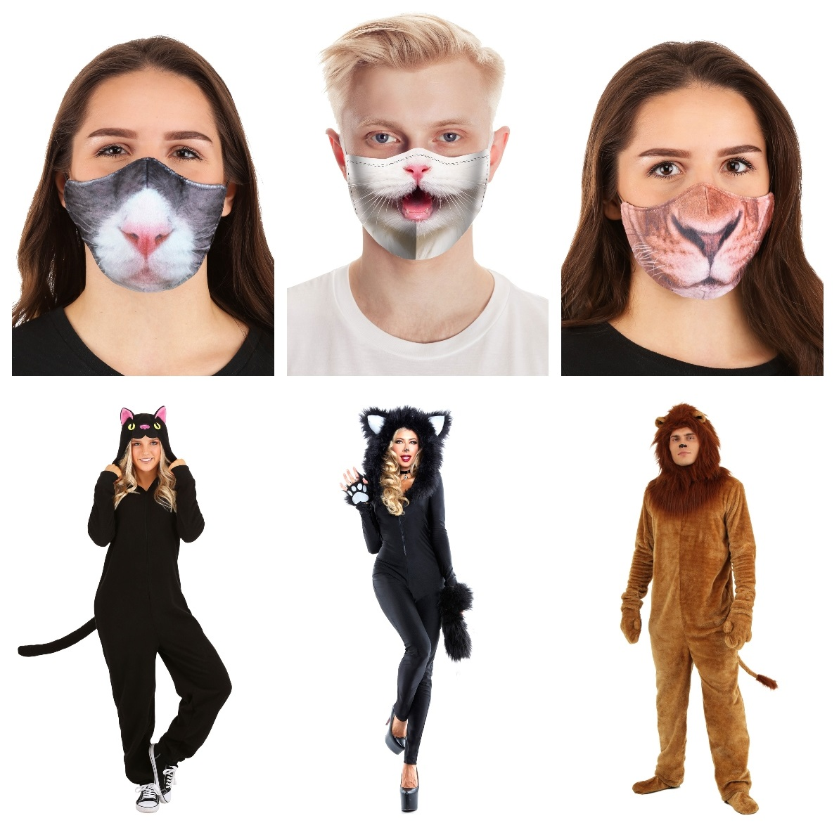Cat Masks and Costumes