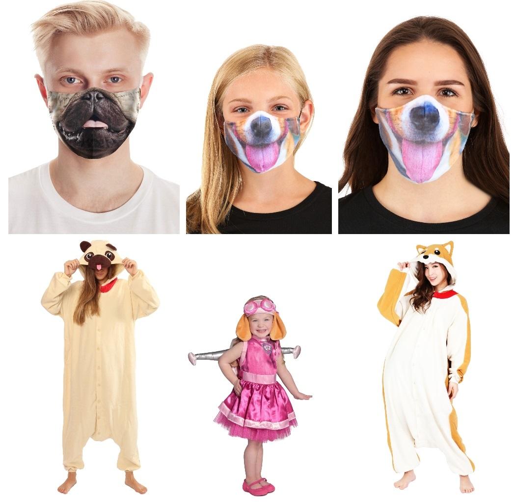 Dog Costumes and Masks