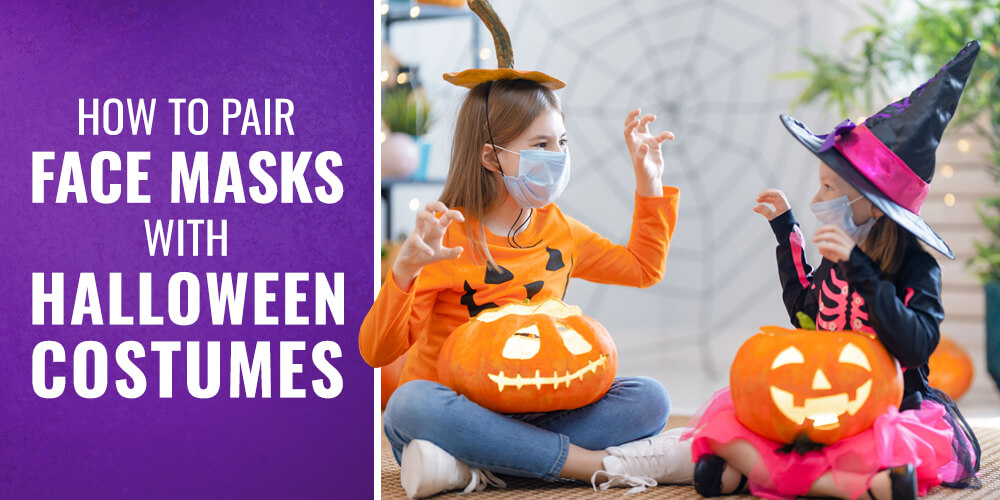How to Pair Face Masks With Halloween Costumes