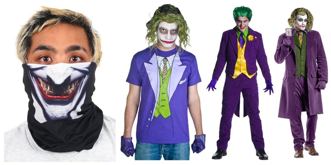 Joker Costumes and Masks