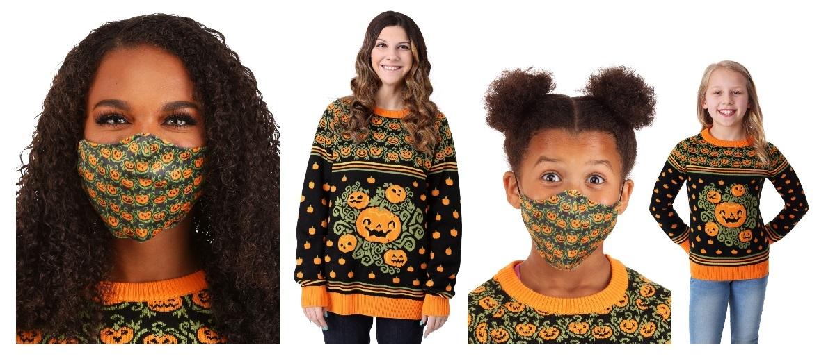 Pumpkin Masks and Costumes