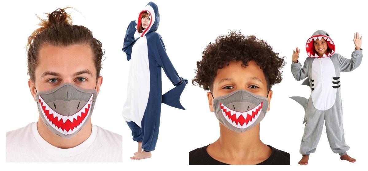 Shark Masks and Costumes