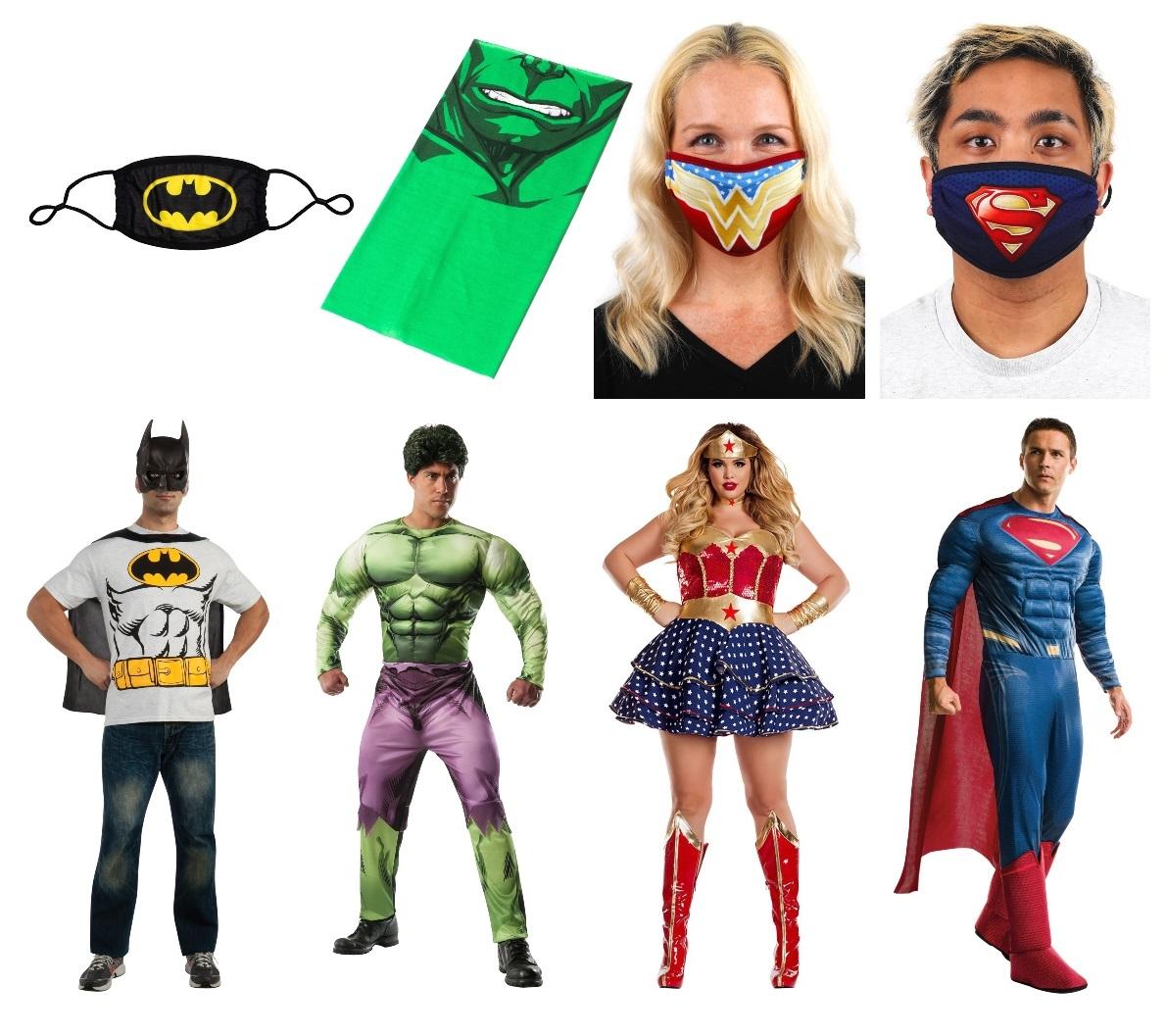 Superhero Masks and Costumes