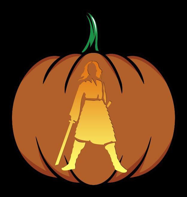 Mulan Pumpkin Design