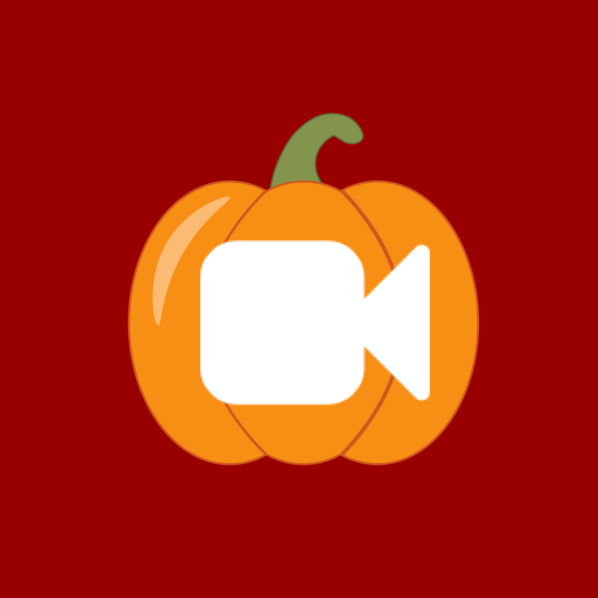 Facetime Halloween App Icon from HalloweenCostumes.com