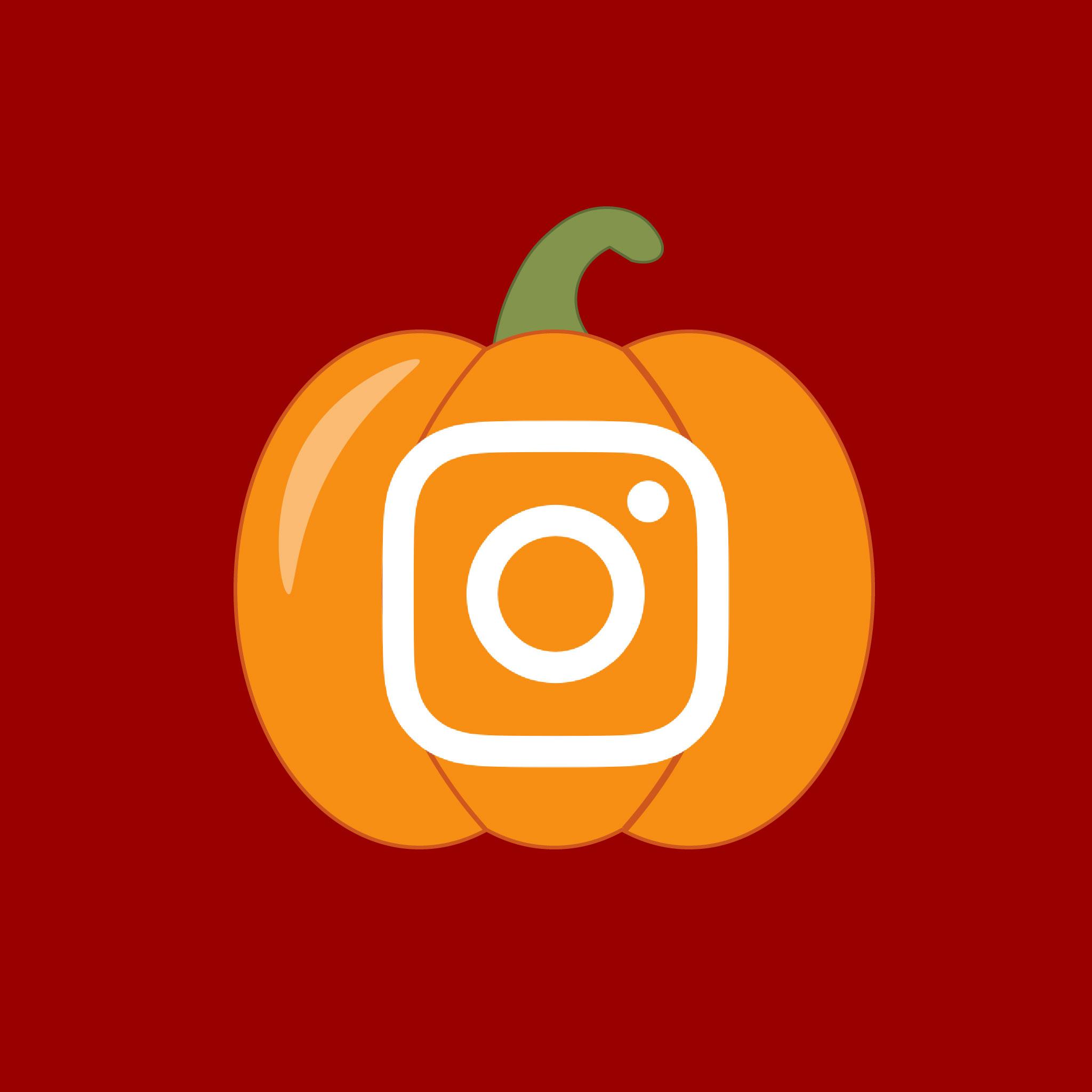 Instagram Halloween App Icon from HalloweenCostumes.com
