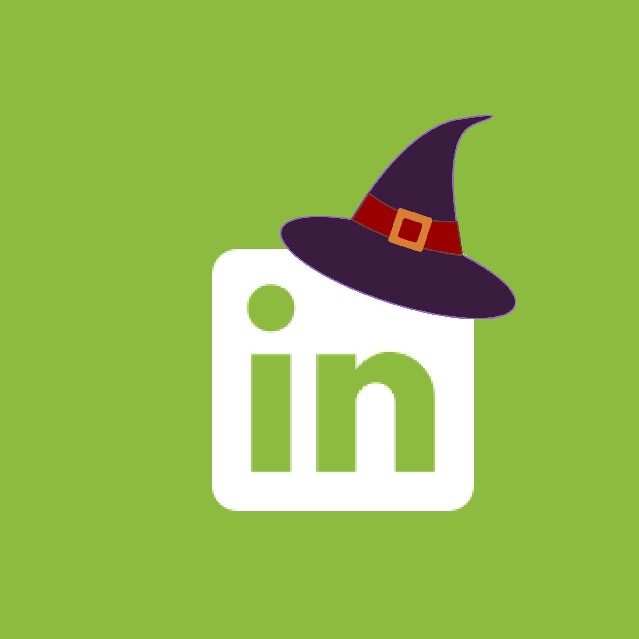 LinkedIn Halloween App Icon from HalloweenCostumes.com