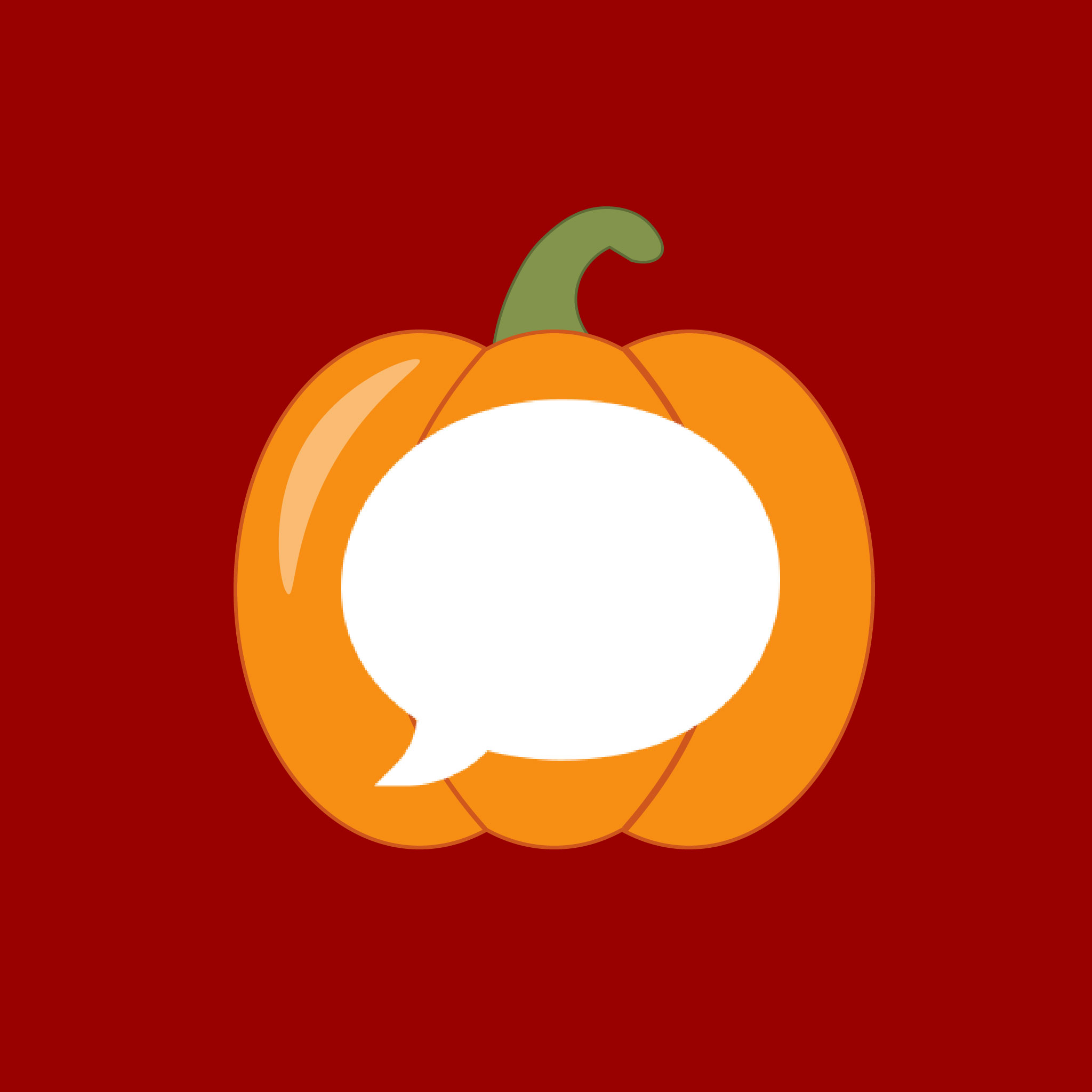 Messages Halloween App Icon from HalloweenCostumes.com