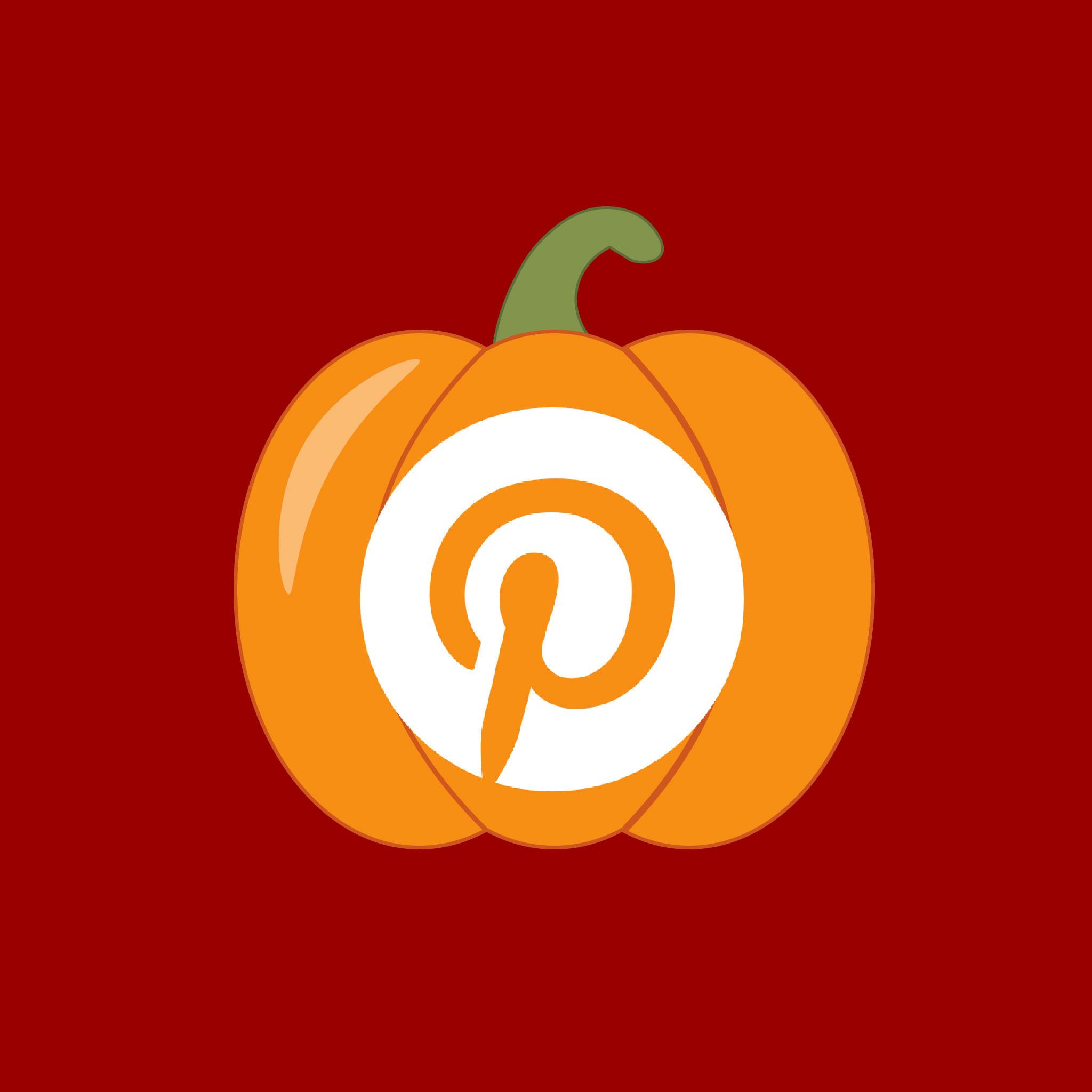 Pinterest Halloween App Icon from HalloweenCostumes.com