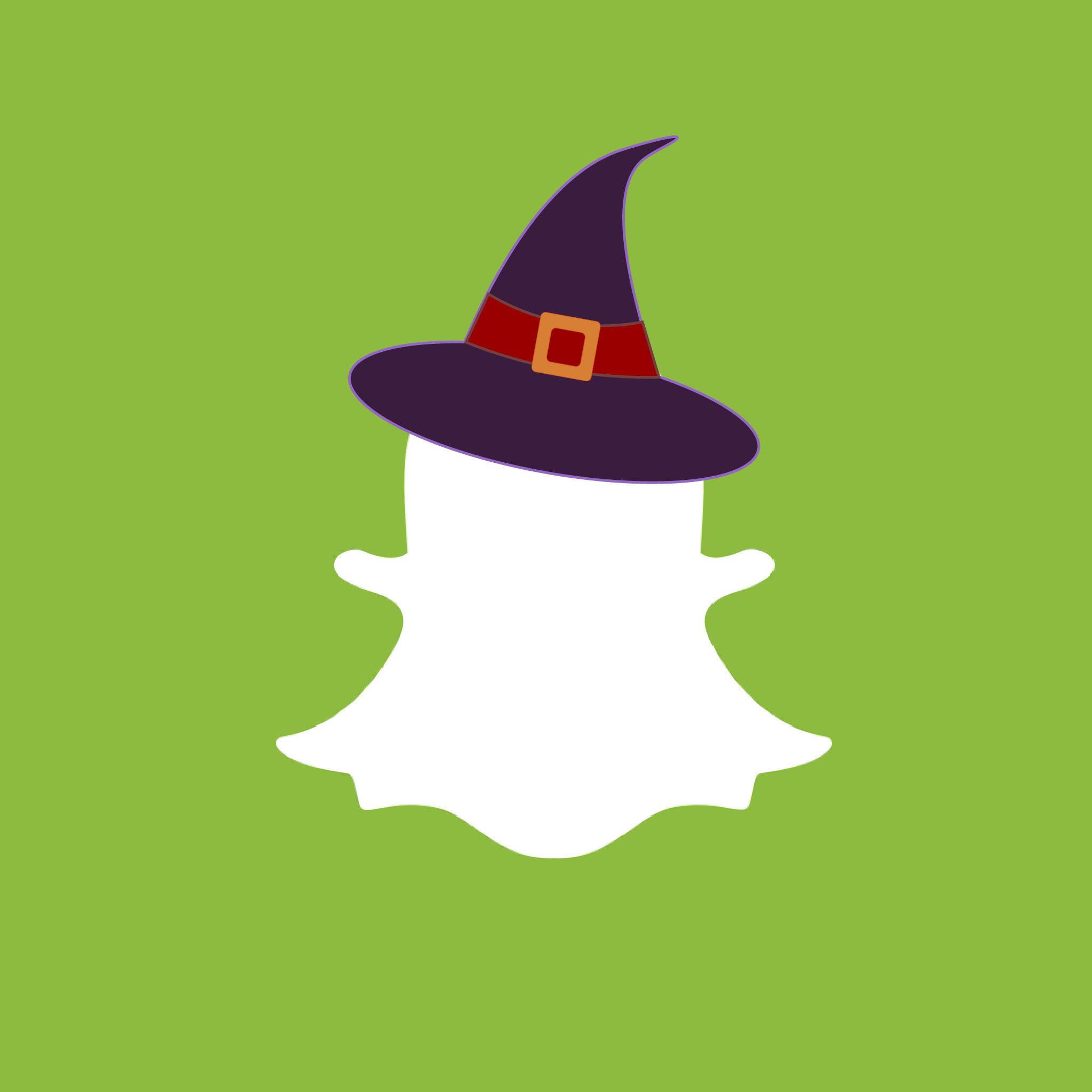 Snapchat Halloween App Icon from HalloweenCostumes.com