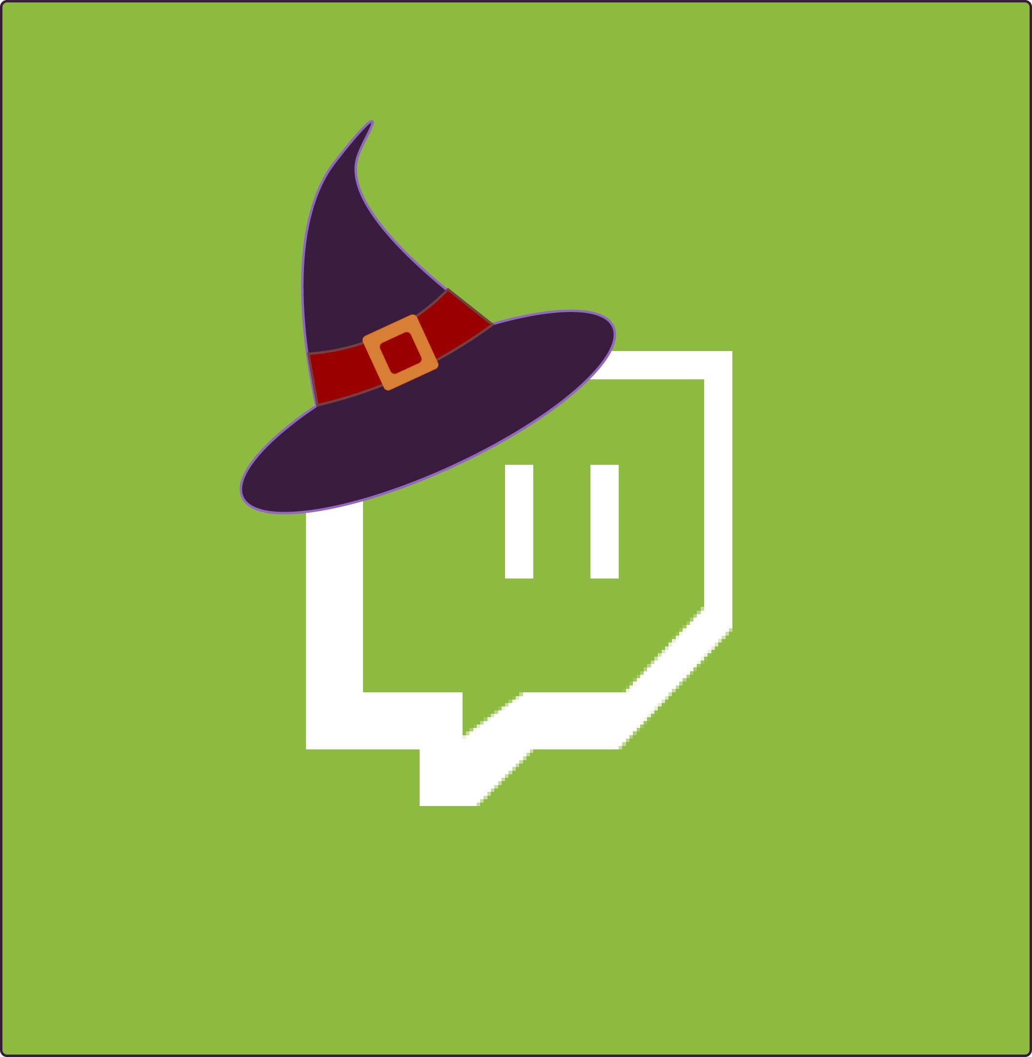 Twitch Halloween App Icon from HalloweenCostumes.com