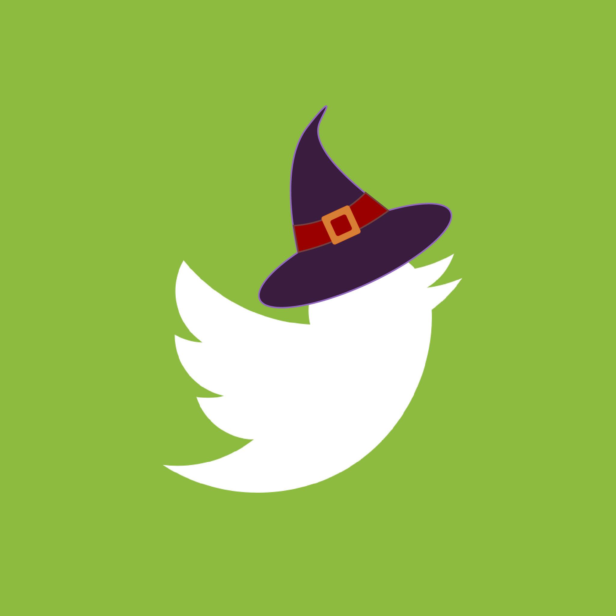 Twitter Halloween App Icon from HalloweenCostumes.com