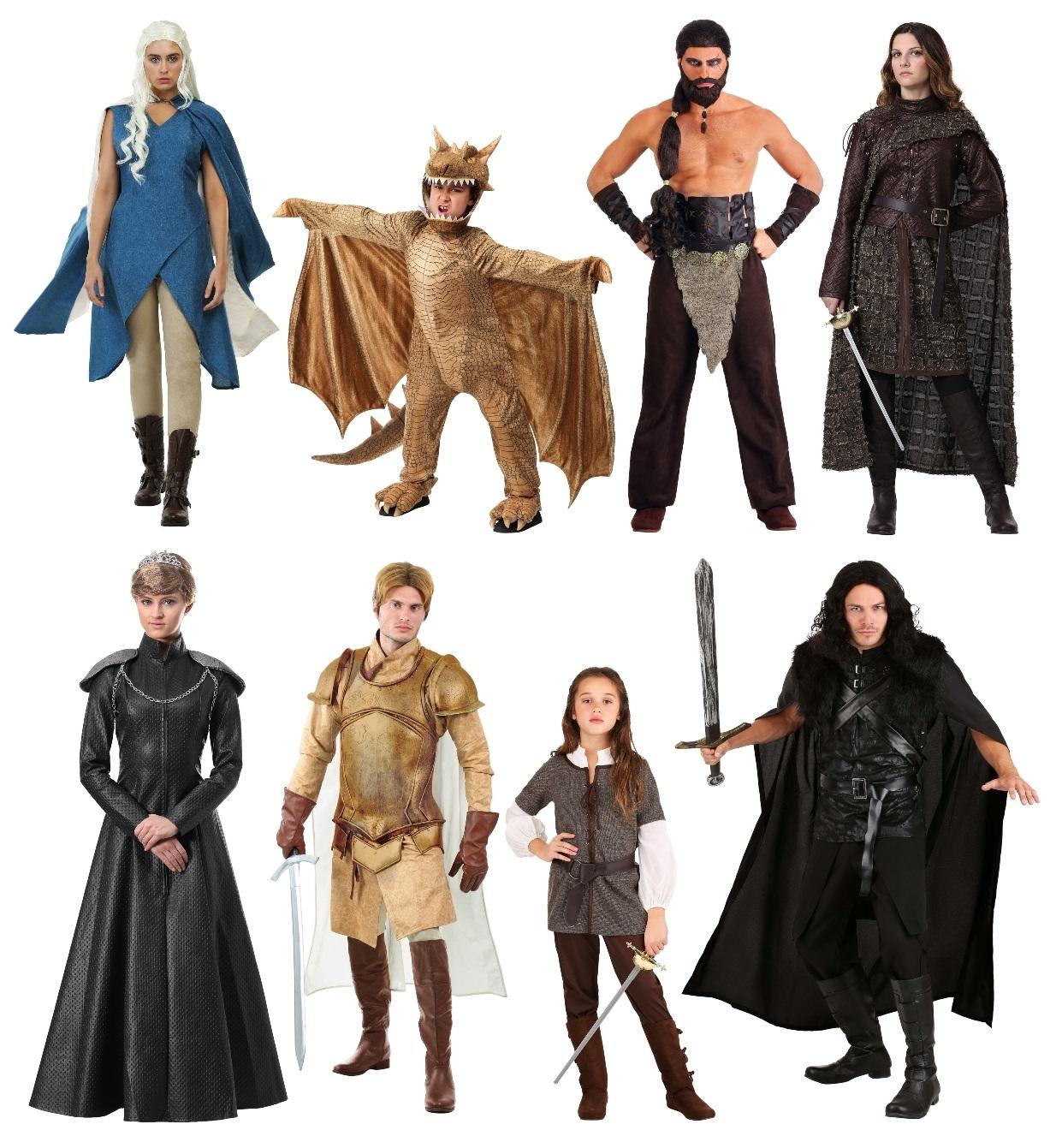 Game of Thrones Halloween Costumes