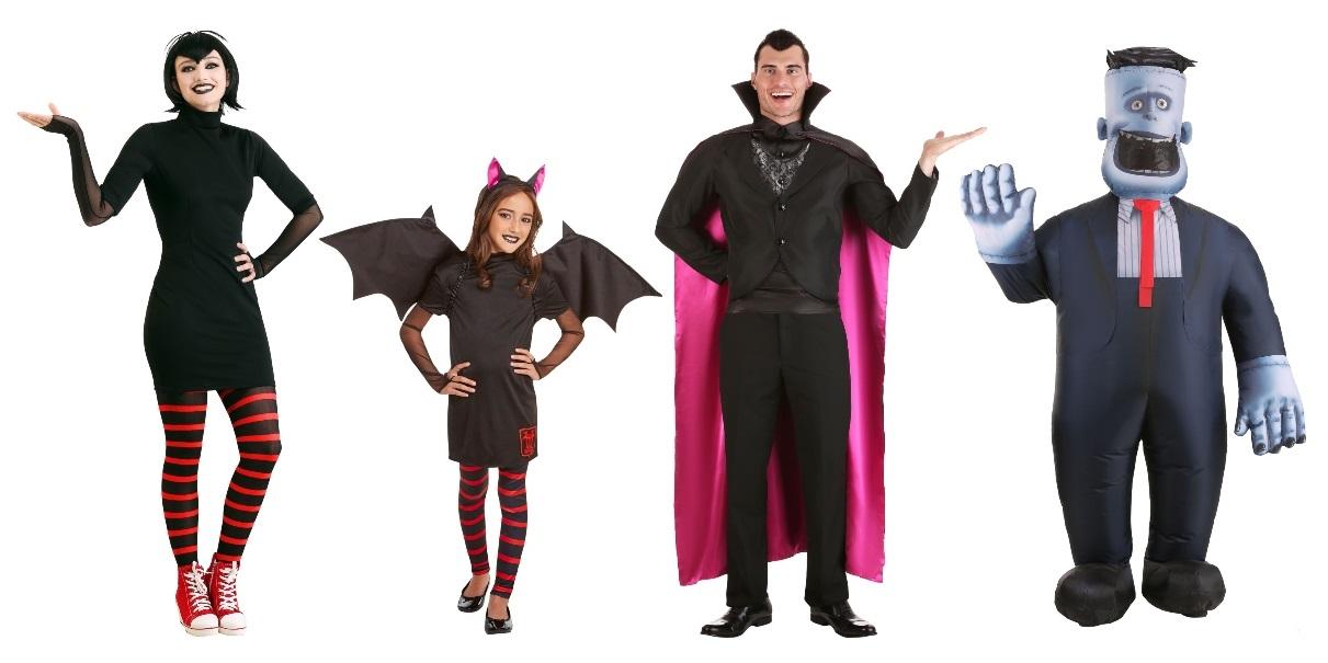 Hotel Transylvania Halloween Costumes