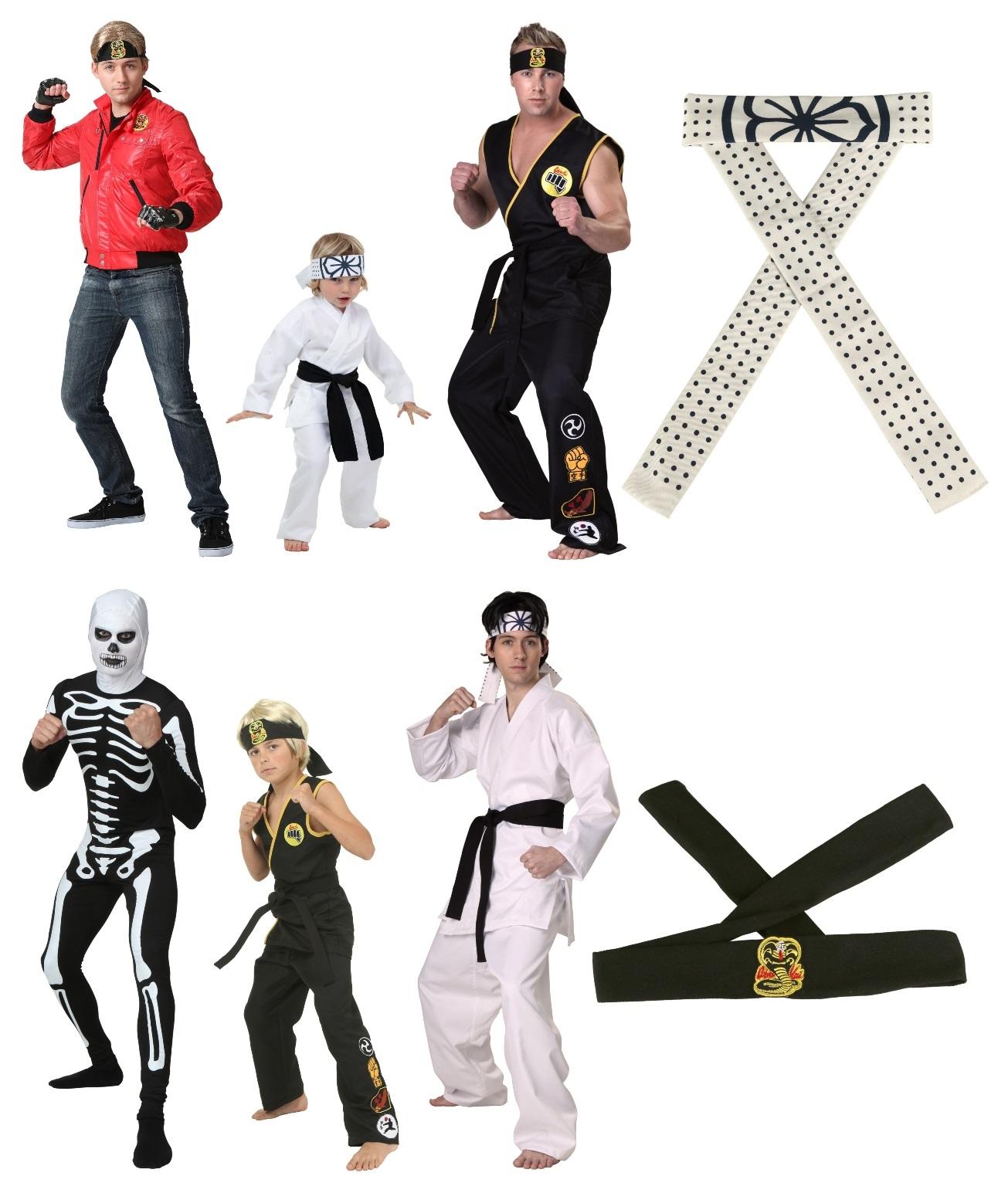 Karate Kid and Cobra Kai Halloween Costumes