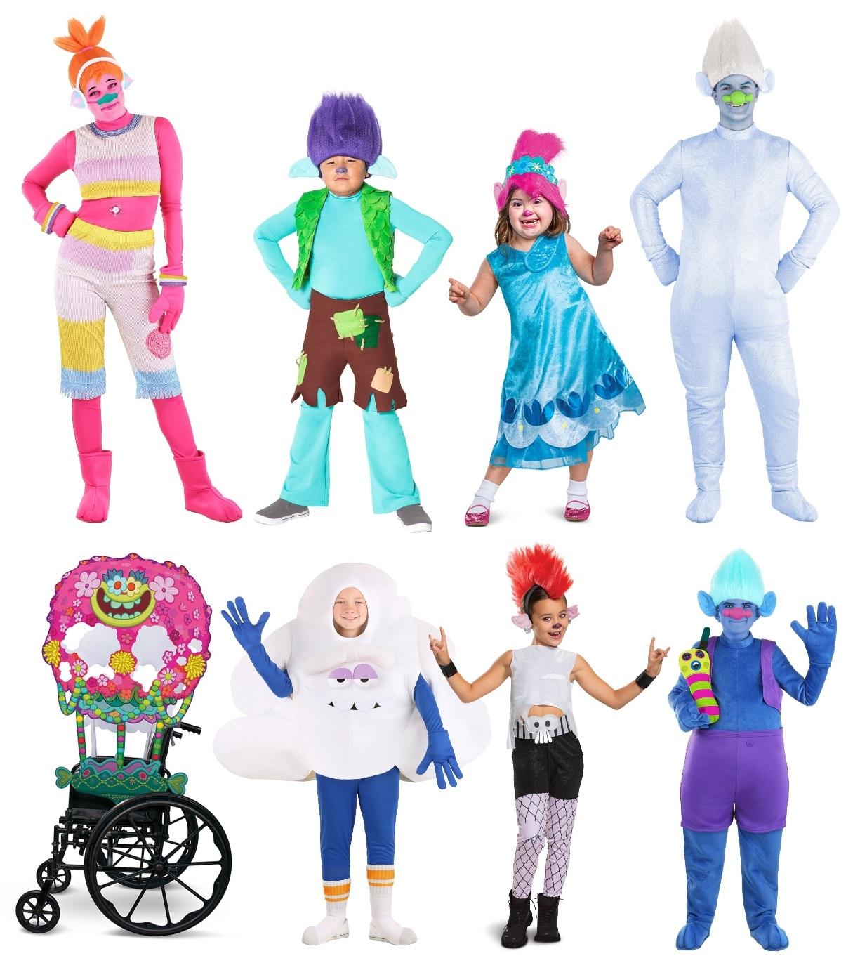 Trolls Halloween Costumes
