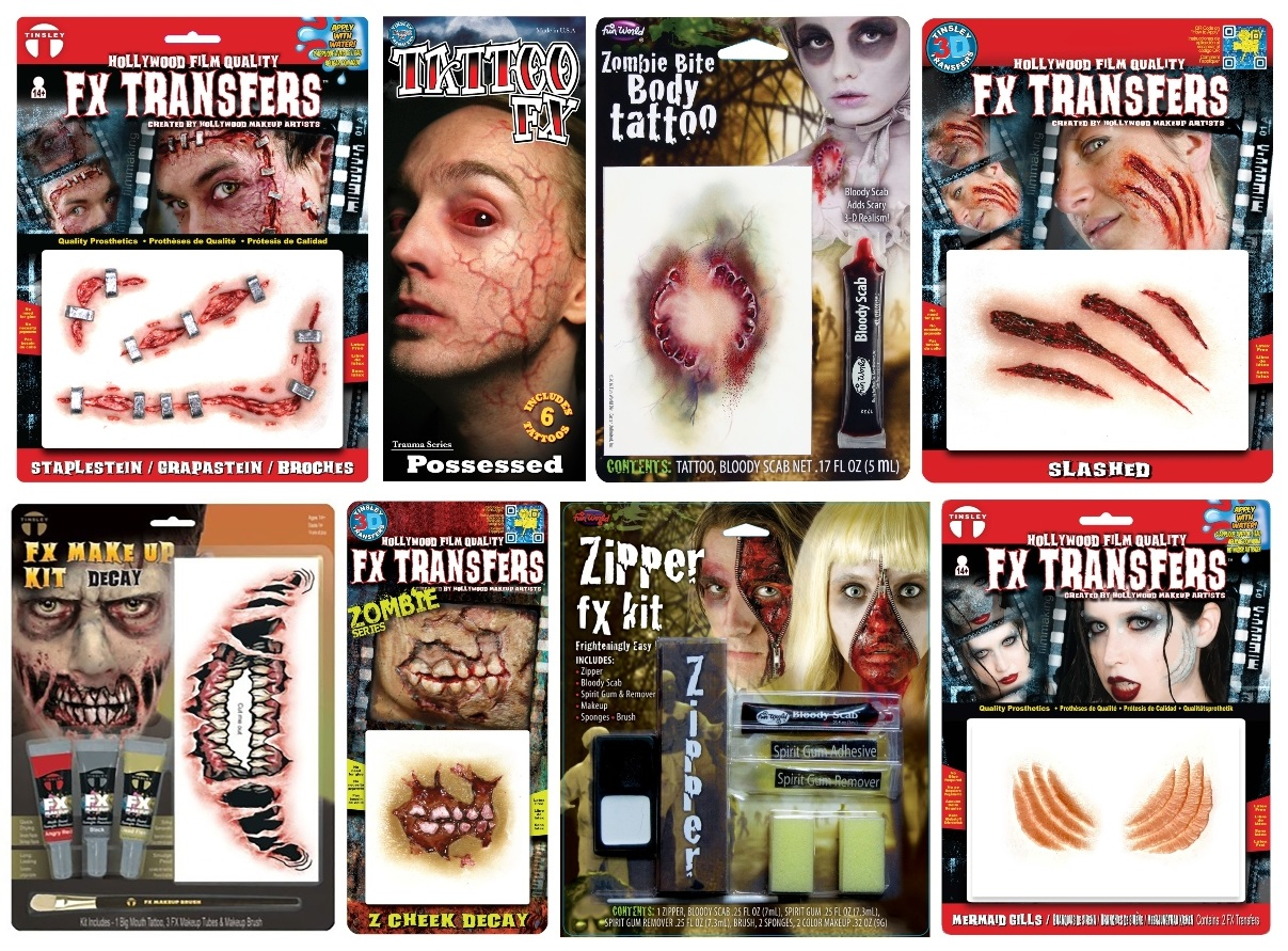 Special Effects Makeup Kits