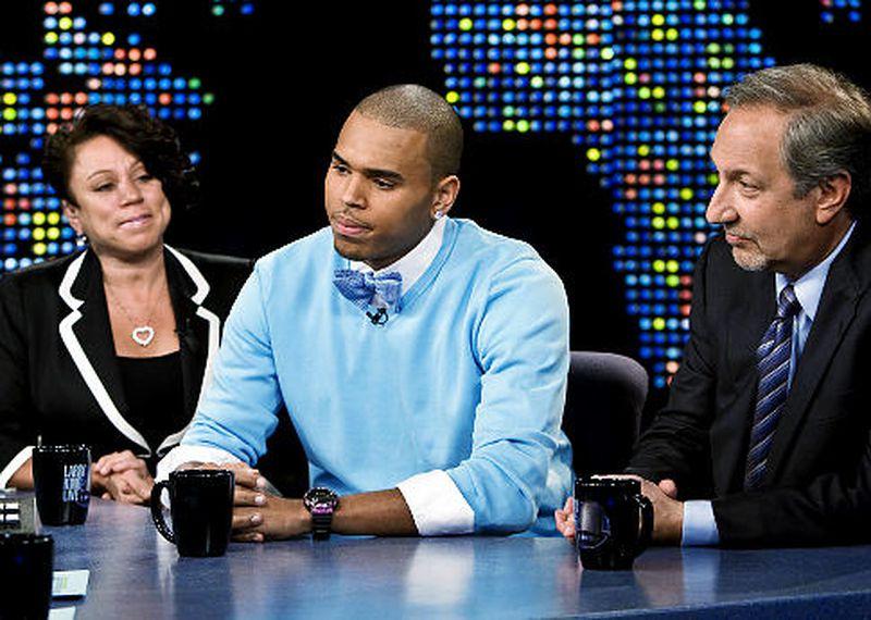 Chris Brown on CNN