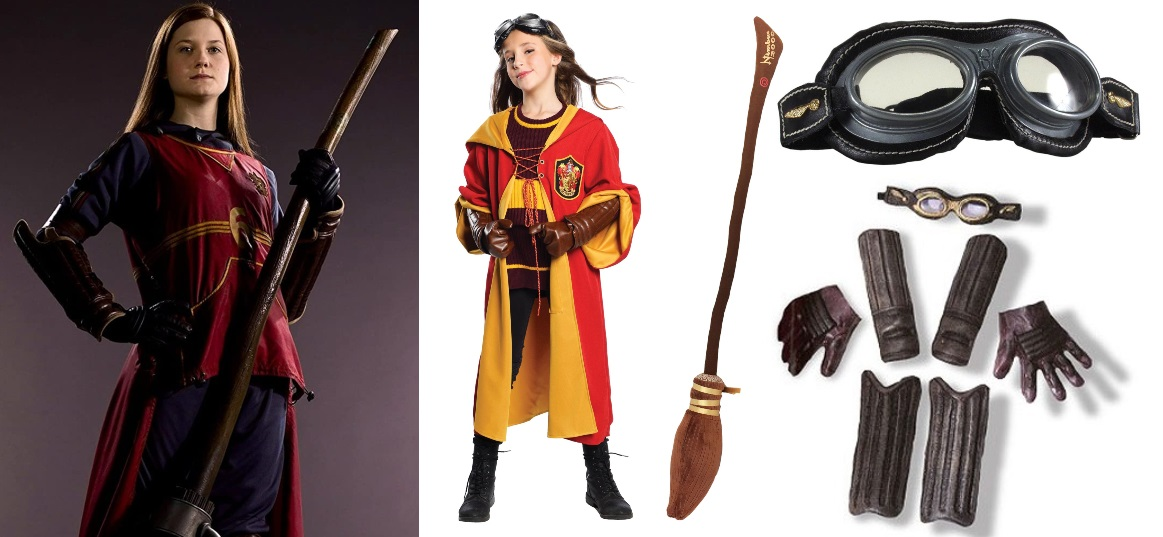 Child Ginny Weasley Quidditch Costume Ideas