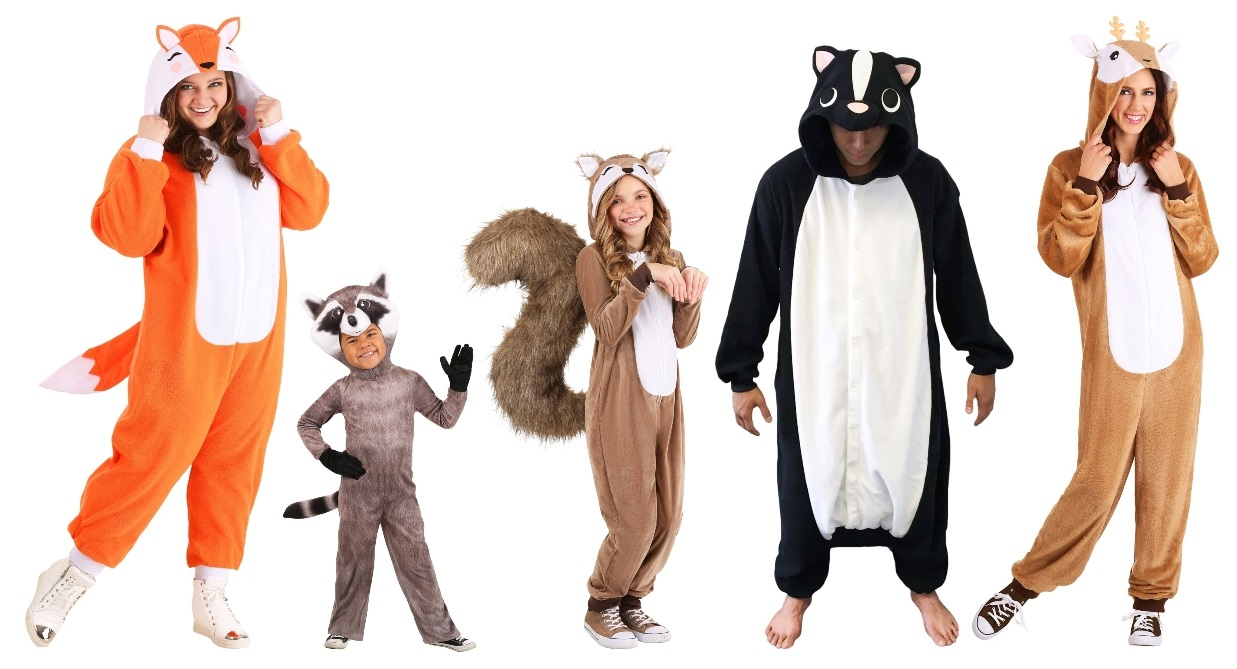Animal Group of 5 Costumes