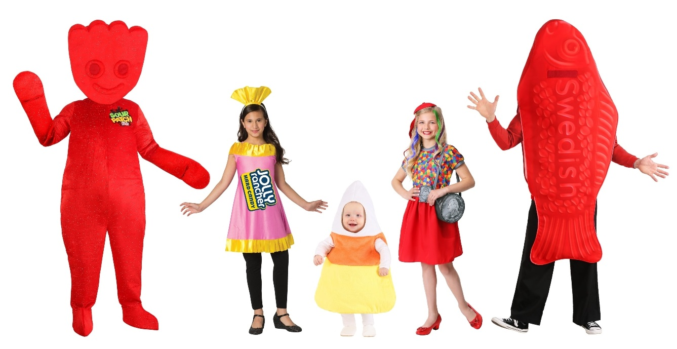Group Candy Costumes
