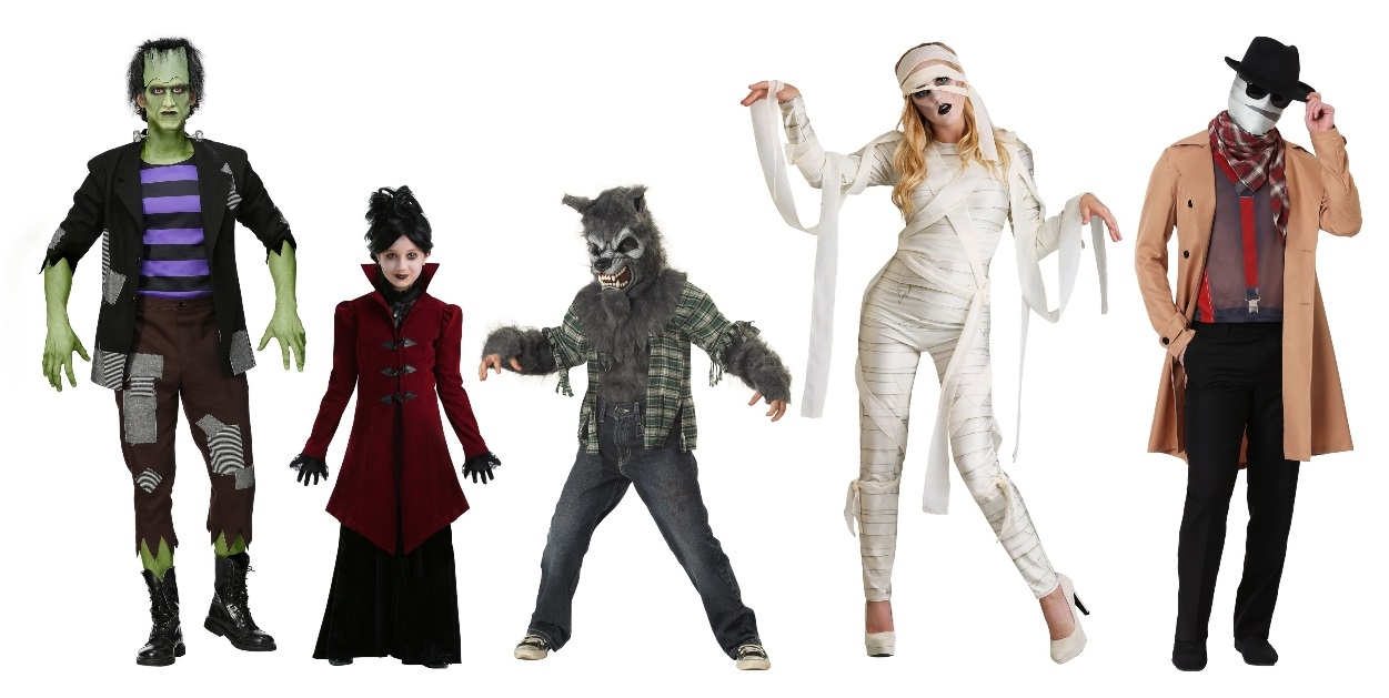 Group Monsters Costumes