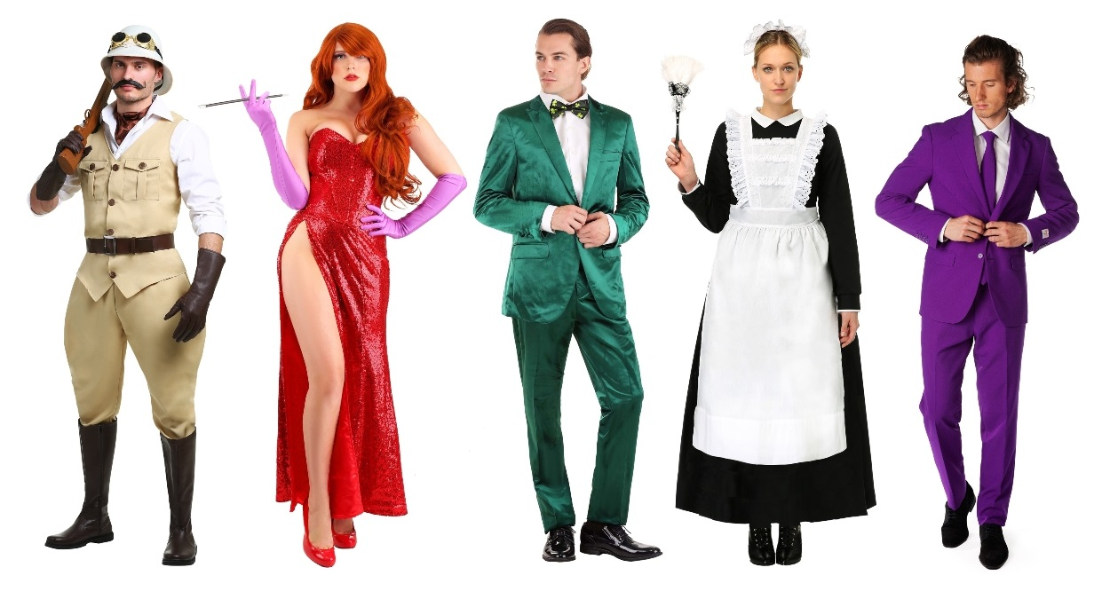 Group Clue Costumes