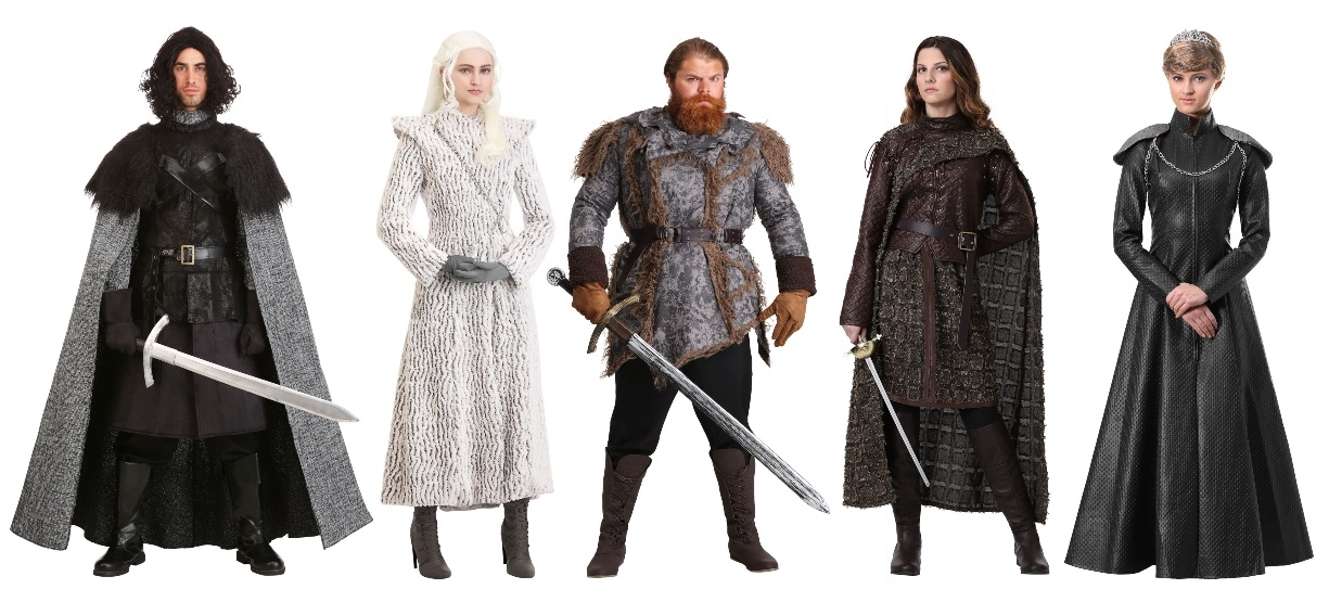 Group Game of Thrones Costumes
