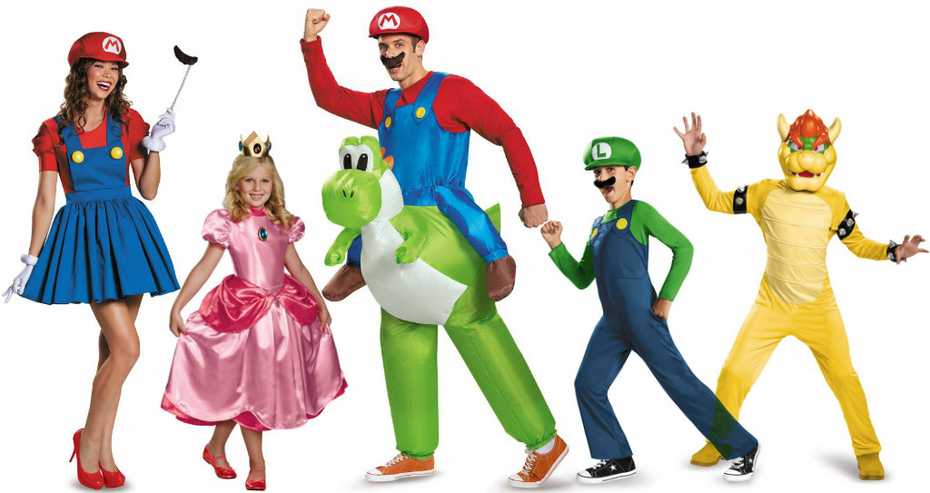 Costume Ideas For Groups Of Five Halloweencostumes Com Blog