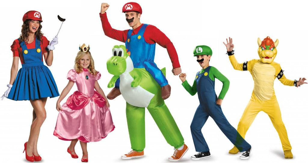 Super Mario group costume idea