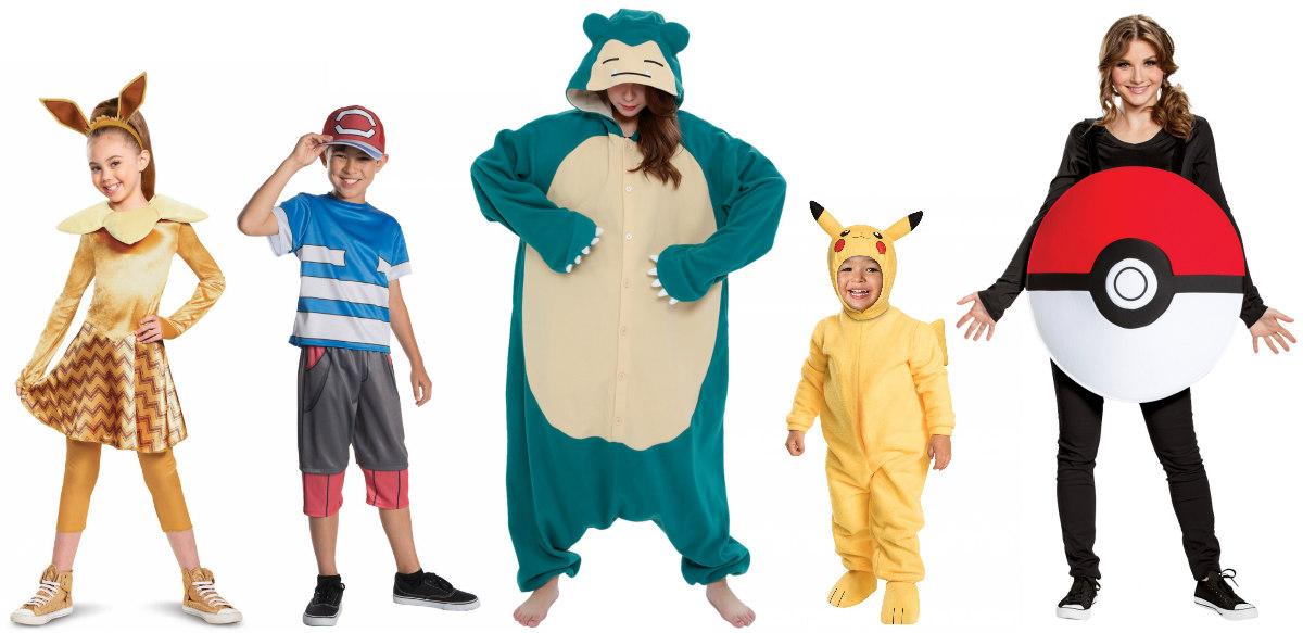 Pokemon group costume